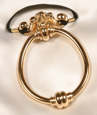 BH62 Men's Doorknocker penis ring in Gold
