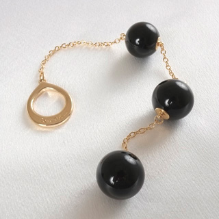 CHAP01H Men's Insertable Triple Geisha Balls with Gold Loop