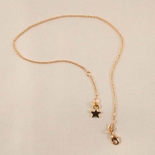 CHC47 Gold Star Wrist or Ankle Chain