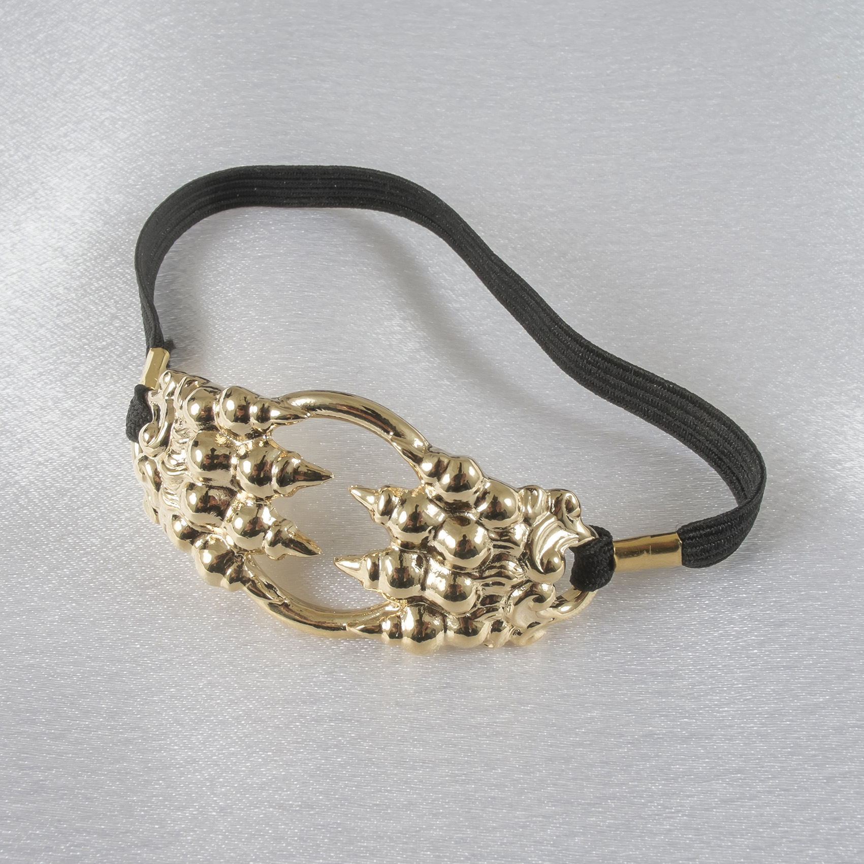 BH142 Men's Gold Claw Penis Chain Bracelet